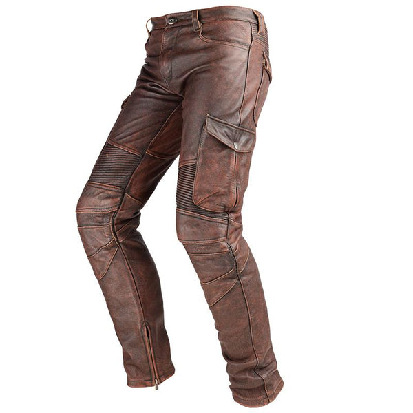 Genuine Leather Motorcycle Trousers