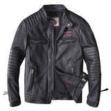 Genuine Leather UBN Motorcycle Jacket