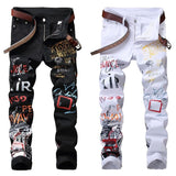Mens HipHop Jeans