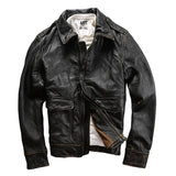 Genuine Leather A1 Pilot Jacket