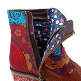 Vintage Genuine Leather Cowgirl Boots