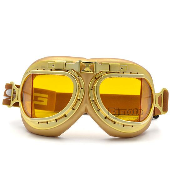 Steampunk Motorcycle Goggles