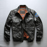 Genuine CowHide Slim-Fit Pilot Jacket