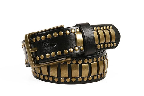 Genuine Cowhide Designer Western Belt