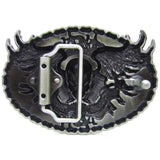 Biker To The Bone Belt Buckle
