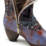 Women's Genuine Leather Ankle Boots