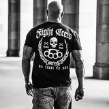Fight Crew Tattoo Biker T-Shirt