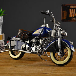 Hand-Made Retro Style Showcase Indian Motorcycle Model
