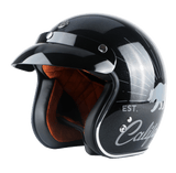 DOT Certified Retro Motorcycle Helmets
