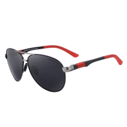 Aluminum Framed Polarized Sunglasses