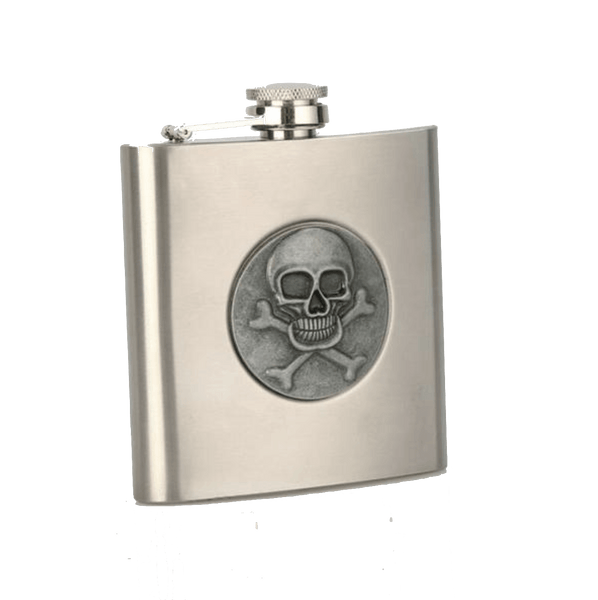 Stainless Steel 6oz Pocket Flask
