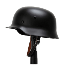 World War II Stainless Steel German Biker Helmet