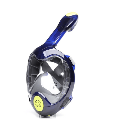 Full Face Diving Snorkel Mask w/ Panoramic View and Camera Mount