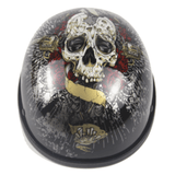 Limited Edition Vintage Half-Face Motorcycle Helmet
