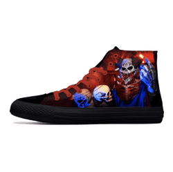 Punk Skull Canvas High-Tops