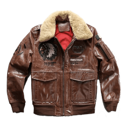 Genuine Cowhide Air Force Pilot Jacket