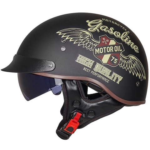 DOT Certified Retro Cruiser Helmet