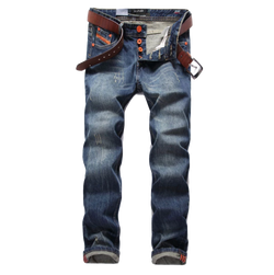 Fashion Straight Fit Men Jeans