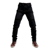 Stretch Biker Pants with Protective Padding