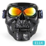 Skull Monster Motorcycle Mask