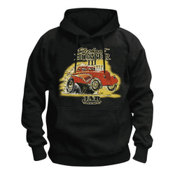 Elephant Hunter Dragster Hoodie