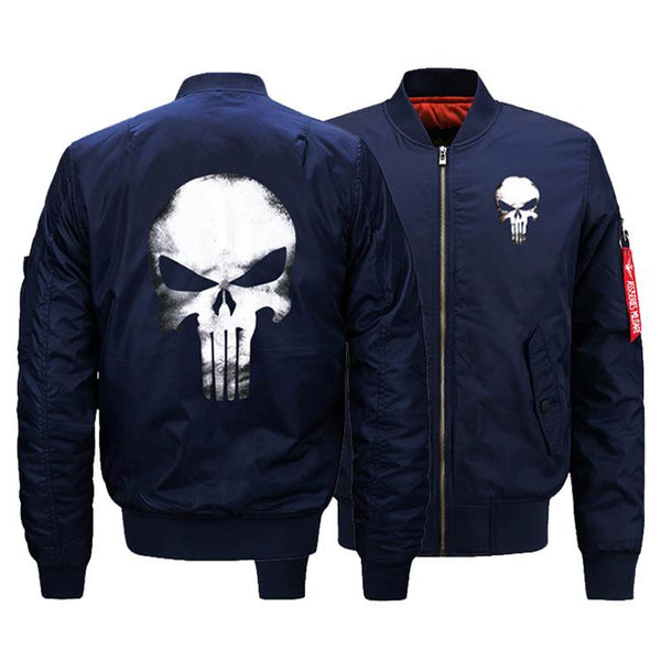 Punisher Skull Bomber Jackets