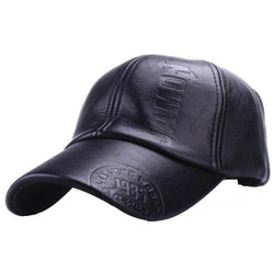 Baseball Caps - PU Leather Cap