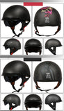 Half-Face Helmet - Ece-R22/05 And DOT Approved Carbon Fiber Half-Faced Motorcycle Helmet