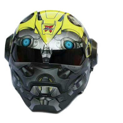 Helmets - 2017 DOT Certified Iron Man Helmet