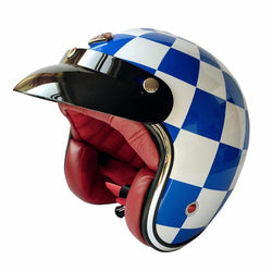 Helmets - 3/4 Open Face Vintage Paris Motorcycle Helmet