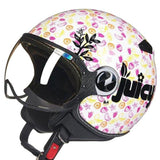 Helmets - DOT Certified Chopper Open Face Vintage Helmet