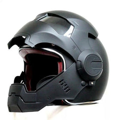 Helmets - DOT Certified Iron Man Motorcycle Helmet