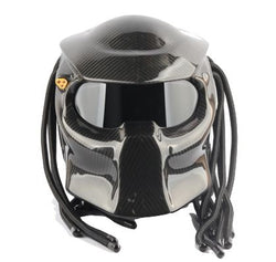 Helmets - DOT Certified Predators Carbon Fiber Motorcycle Helmet