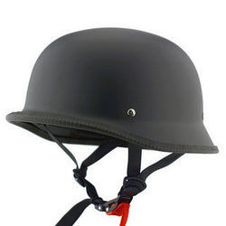Helmets - DOT Certified Retro Half-Face Motorcycle Helmet