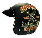 Helmets - DOT Certified Retro Motorcycle Helmet