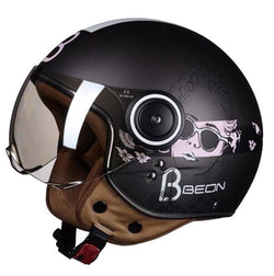 Helmets - Ece-R22/05 Approved Motorcycle Half Helmet For Women