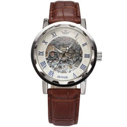 Mechanical Watches - Men's Mechanical Skeleton Wrist Watch.