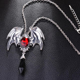 Necklaces/Pendants - Gothic Crystal Vampire Pendant