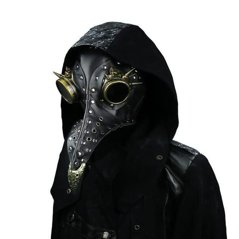 Steam Punk Plague Doctor Bird Mask