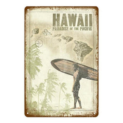 Collectors' Hawaii Surfer Wall Art