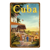 Collectors' Old School Vintage Cuba Wall Art
