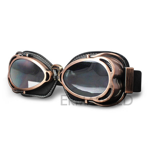 Vintage Motorcycle Racing Goggles