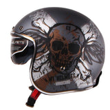 3/4 Open Face Vintage Cruiser Helmets