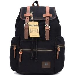 Vintage Leather Military Backpacks