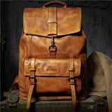 Cow Leather Large Capacity Travel Bag