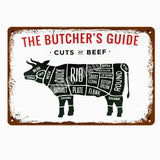 Collectors' Butcher's Guide Wall Plaques