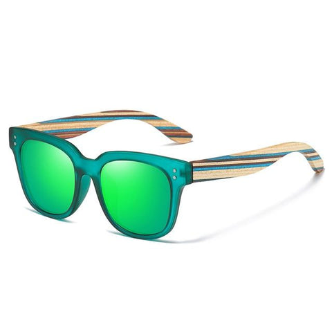 Classic Polarized Wood Sunglasses