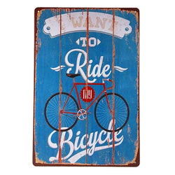Vintage Retro Garage Wall Signs