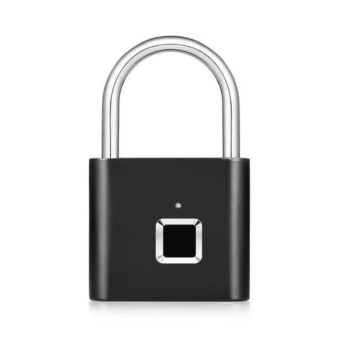 USB Rechargeable Smart Fingerprint Padlock
