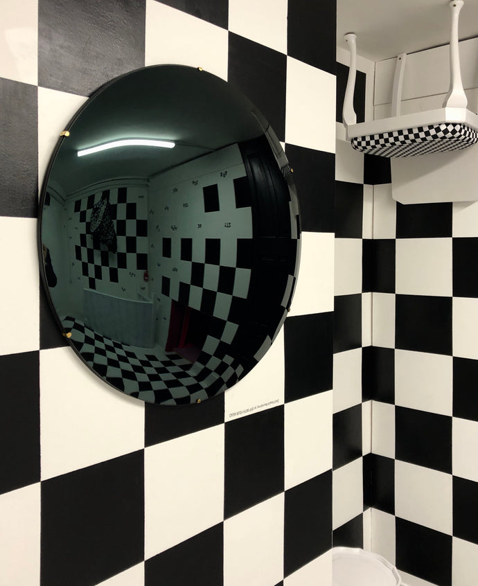Black Convex Mirror @ Alice in Hackneyland